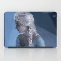 elsa iPad Cases featuring Elsa by LindaMarieAnson