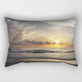 Sunrise over Water Rectangular Pillow