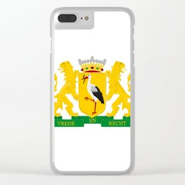 Coat of arms of The Hague Clear iPhone Case