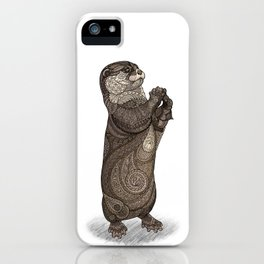 Infatuated Otter iPhone Case