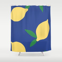 Lemons - Collage Shower Curtain