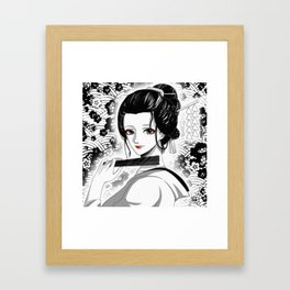 Nico Robin Geisha Framed Art Print