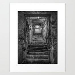 Lost mine. Art Print