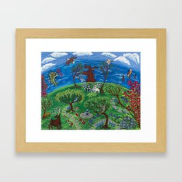 Back to the Garden Framed Art Print