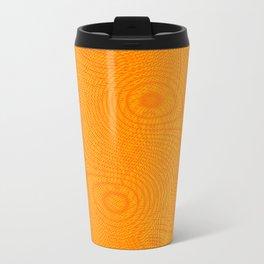 Swinging wall yellow-red Travel Mug