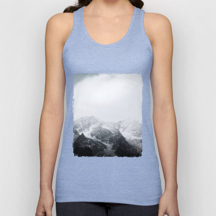 Morning in the Mountains - Nature Photography Unisex Tank Top