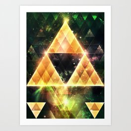 Triforce Art Print