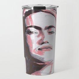 The Surrealist - tricolor portrait series Travel Mug