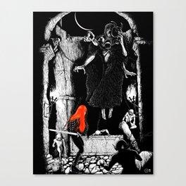 Dark Desecration Canvas Print