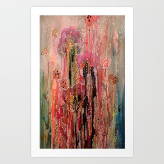 chercher la lumière Art Print