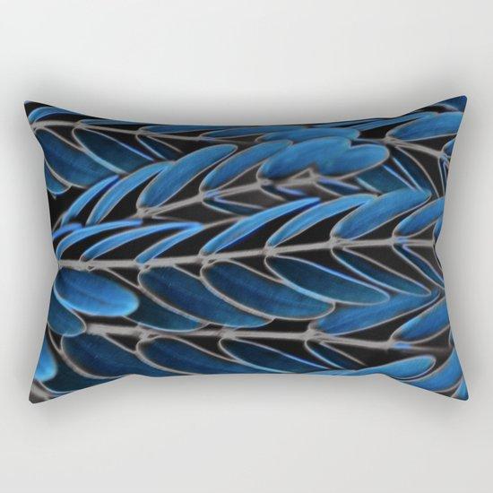 Floral abstract(42) Rectangular Pillow