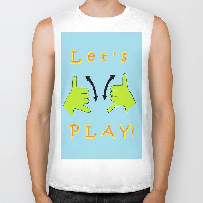 ASL Let's PLAY! Biker Tank
