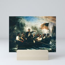 Battle of Lake Erie - Oliver Hazard Perry - War of 1812 Mini Art Print