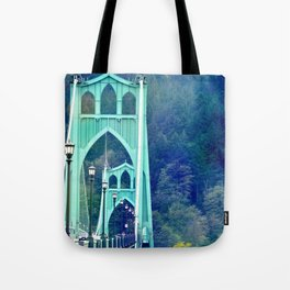 ST. JOHN'S BRIDGE Tote Bag