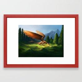 Bonding Framed Art Print