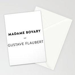 Madame Bovary  —  Gustave Flaubert Stationery Cards