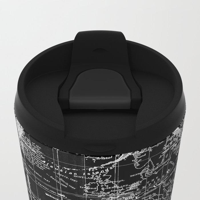 Skull Wanderlust Metal Travel Mug