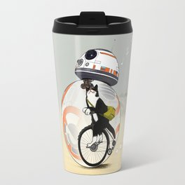 CAT INSIDE DROID Travel Mug