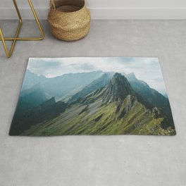 Wild Mountain - Landscape Photography Rug