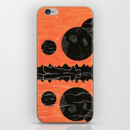 a hunter's dream iPhone Skin