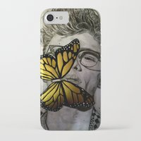 james franco iPhone & iPod Cases featuring Dave Franco by Christelle Walker