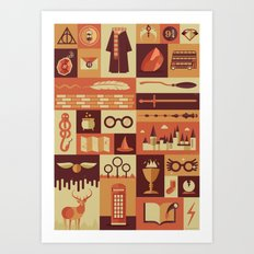 Accio Items Art Print