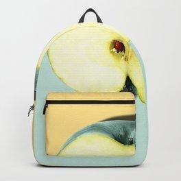 Tropical Fruit. Apple Half Slice Backpack