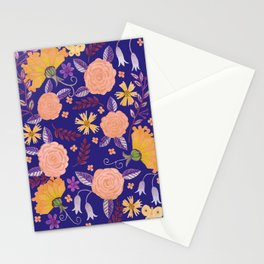 Butterfly Florals Stationery Cards