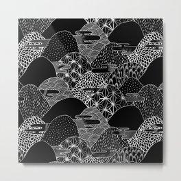 Cosmic Mountains II Metal Print