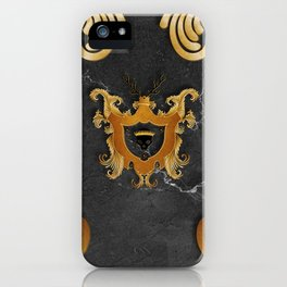 House of Gold and Marble iPhone Case