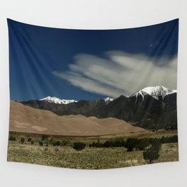 High Mountains and Sand Dunes Wall Tapestry
