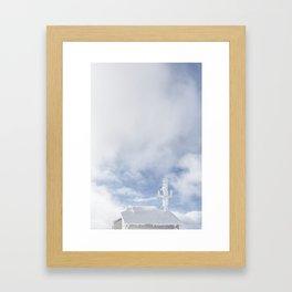 No Reception Framed Art Print