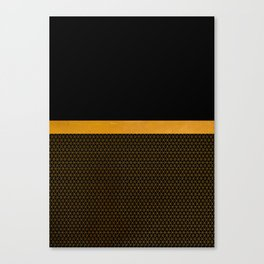 Gold your world Canvas Print