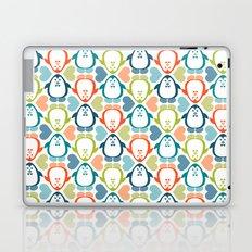 NGWINI - penguin love pattern 5 Laptop & iPad Skin