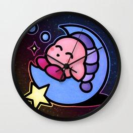 Kirby Sleep (no text) Wall Clock