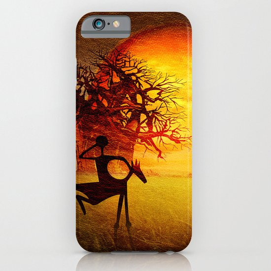 Visions of fire iPhone & iPod Case