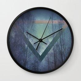 Pagan mornings Wall Clock