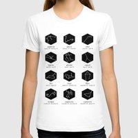 zodiac T-shirts featuring Zodiac by Dorothy Leigh