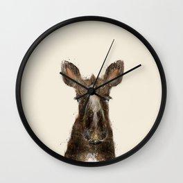 little moose Wall Clock