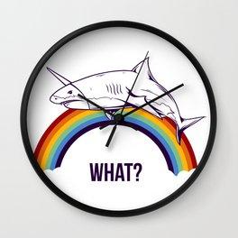 Shark - What? Wall Clock