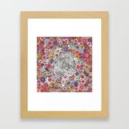 Wheel in the Sky Framed Art Print