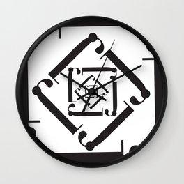 """Dizzy - The Didot """"j"""" Project Wall Clock"""