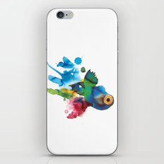 COLORFUL FISH 2 iPhone & iPod Skin