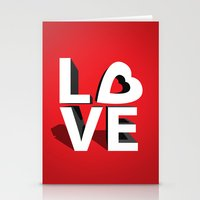 kiss Stationery Cards featuring kiss by mark ashkenazi
