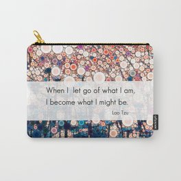 Daily Meditation Quote Carry-All Pouch
