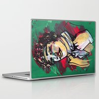 gentleman Laptop & iPad Skins featuring Gentleman  by Tamara Jane Lenz