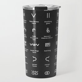 Hobo Signs Travel Mug