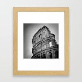Coliseum Rome. Italy 72 Framed Art Print