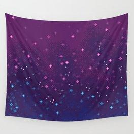 Bi Pride Flag Galaxy Wall Tapestry