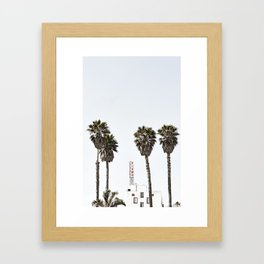 Pismo Beach Hotel Framed Art Print
